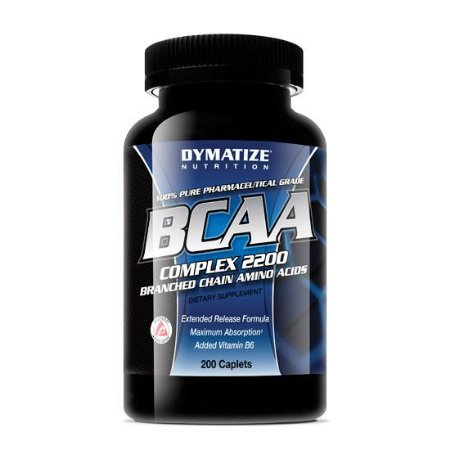 BCAA Complex 2200 (200 Capsulas) Dymatize