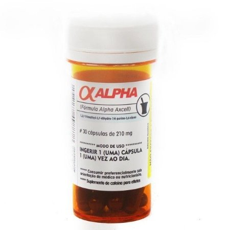 Alpha Axcell (30 Capsulas) Power Suplements