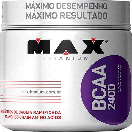 BCAA 2400 (450 Capsulas) Max Titanium