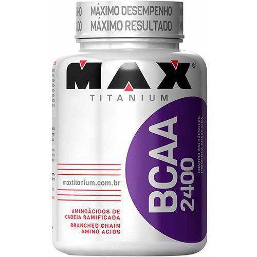 BCAA 2400 (200 Capsulas) Max Titanium