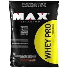 Whey Pro (1,5kg) Refil - Max Titanium