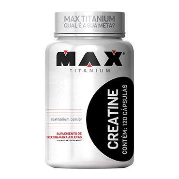 Creatine Titanium - 120 cáps - Max Titanium