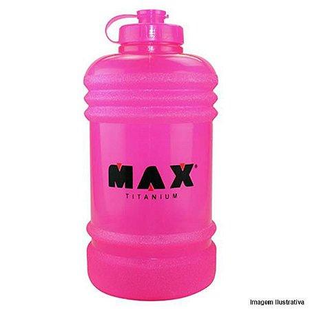 Galão de Água - Rosa - 2,2 litros - Max Titanium