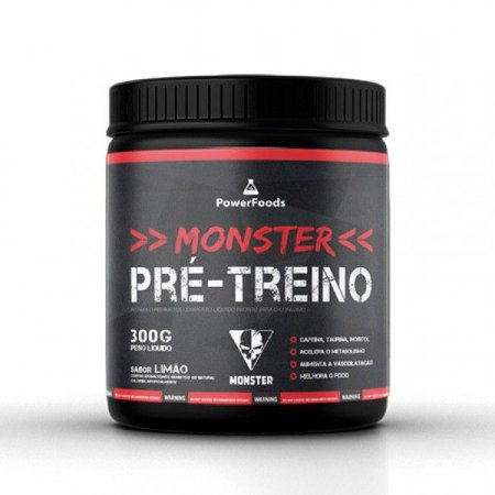 Monster Pre-Treino (300g) PowerFoods