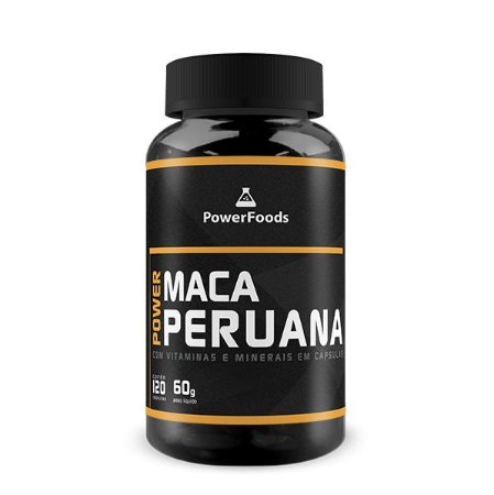 Power Maca Peruana (120 Capsulas) PowerFoods