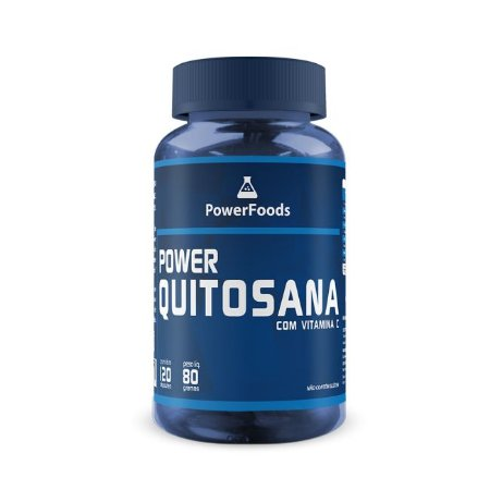 Power Quitosana (120 Capsulas) PowerFoods