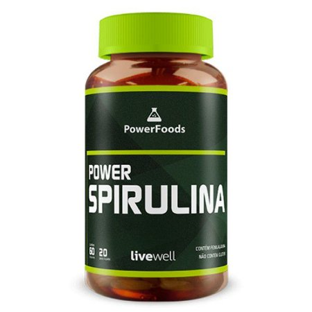 Power Spirulina (60 Capsulas) PowerFoods