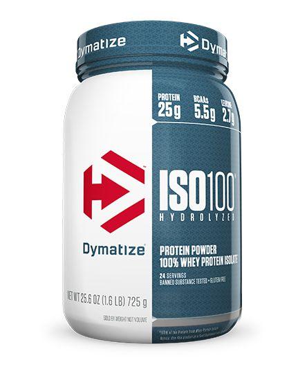ISO 100 - 100% Hidrolyzed Whey (1,6 lbs) - Dymatize