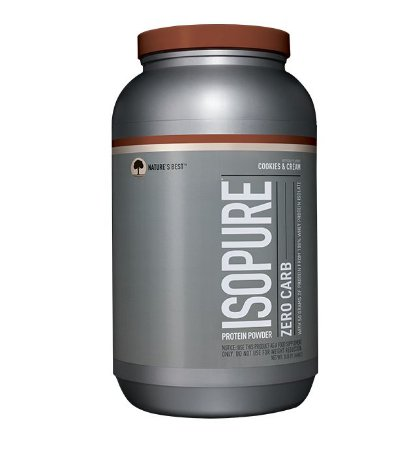 Isopure Zero Carb (3lbs / 1361g) Nature's Best