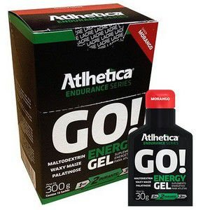 GO! Energy Gel (Display com 10 saches de 30g) Atlhetica