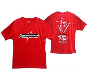 Camiseta Raglan Vermelha - IntegralMédica