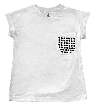 Camiseta Bolso Tacha