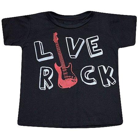 Camiseta Live Rock