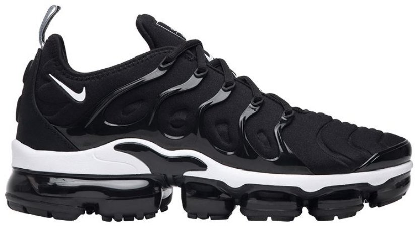 Nike VaporMax plus Preto e Branco