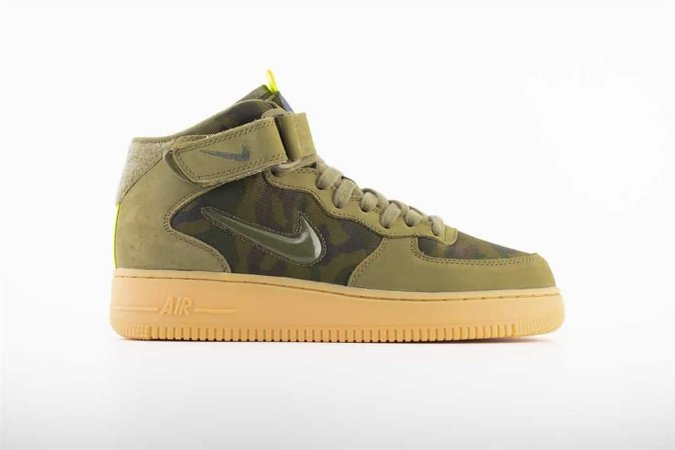 NIKE Air Force 1 MID JEWEL COUNTRY CAMO