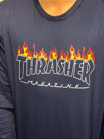 Camiseta manga longa Thrasher