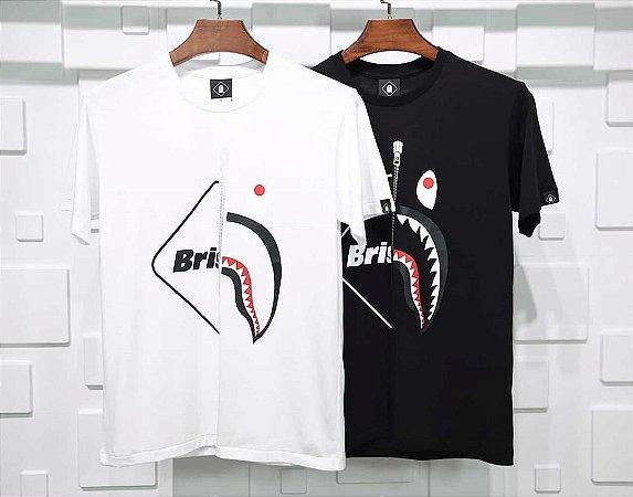 Camiseta BAPE SHARK X FCRB