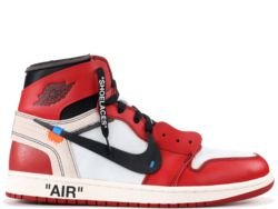 NIKE Air Jordan 1 OFF-WHITE CHICAGO