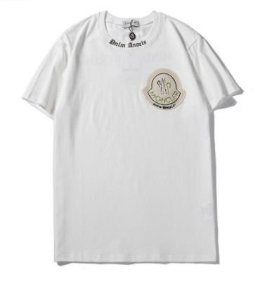 Camiseta Moncler Palm Angels white