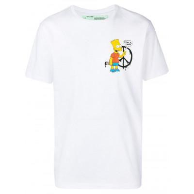 Camiseta OFF-WHITE BART PEACE