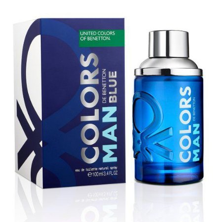 PERFUME Benetton Blue Man Collor 100ml