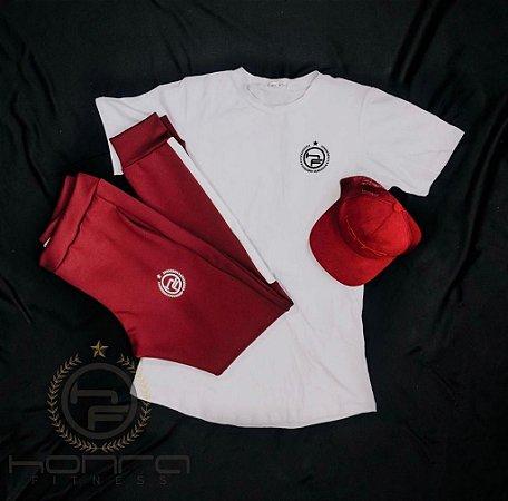 Kit Treino 3 - Camiseta, Boné e Calça