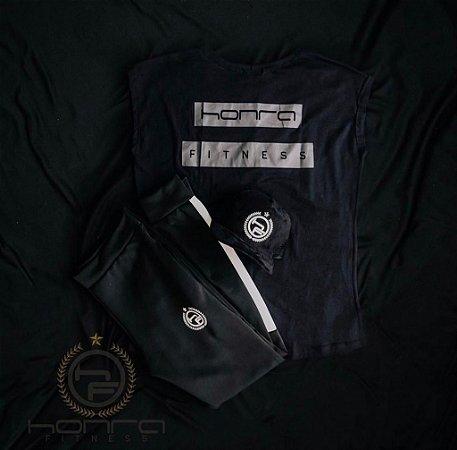 Kit Treino 5 - Camiseta Machão, Calça e Boné