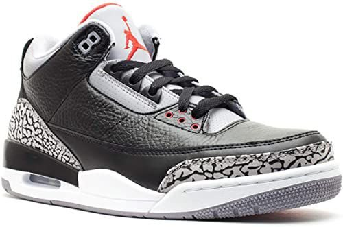 NIKE Air Jordan 3 Black Cement
