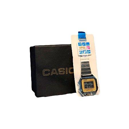 Relógio Casio PRATA DOURADO 3454