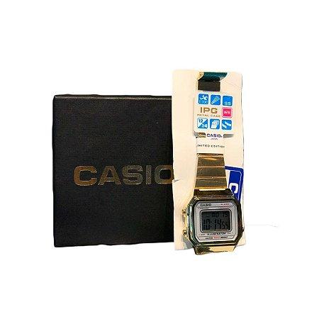 Relógio Casio DOURADO FOSCO 3454
