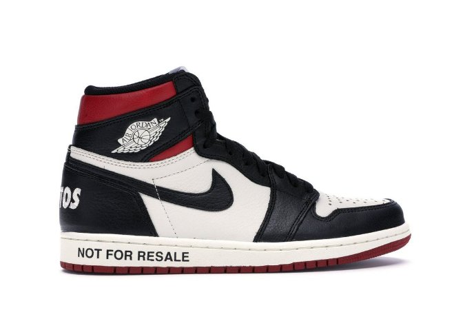 Air Jordan 1 Retro High 'NOT FOR RESALE' Varsity Red