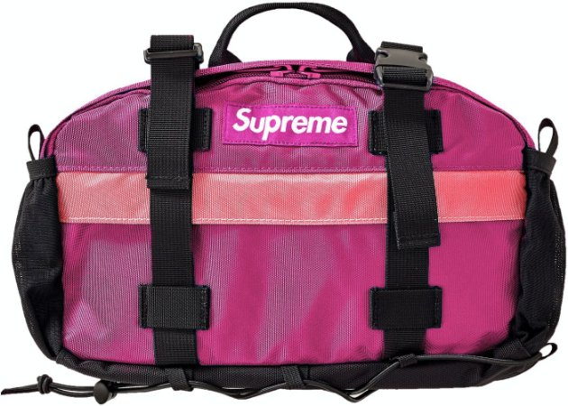 Supreme Waist Bag (FW19) - Magenta