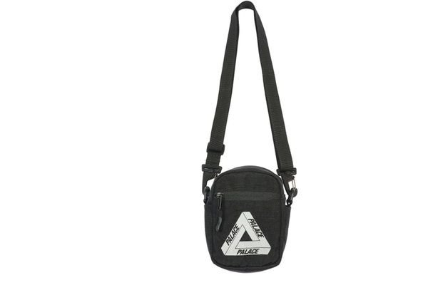 Palace Bag 2 Shot Black - FW18
