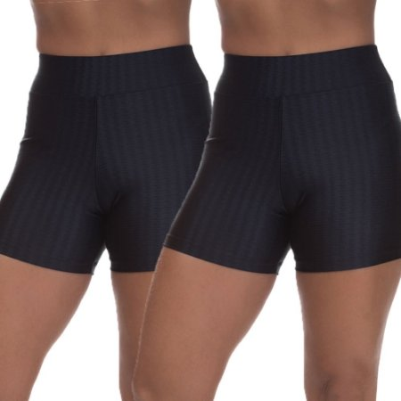 Kit 2 Shorts Cirre 3D Poliamida Preto
