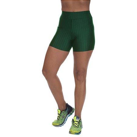 Shorts Cirre 3D Poliamida Verde