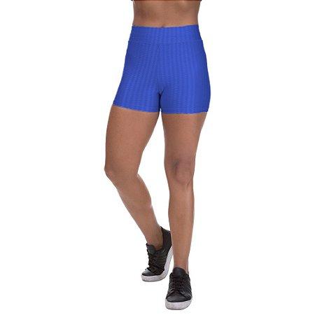 Shorts Cirre 3D Poliamida Azul Royal
