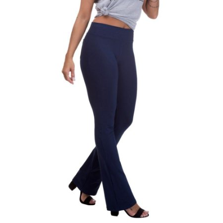Calça Feminina Legging Bailarina Azul Marinho