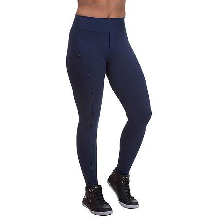 Calça Feminina Legging Montaria Azul Marinho