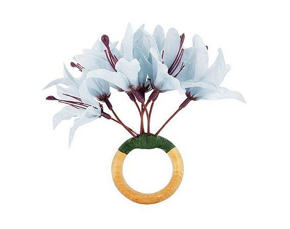 Porta Guardanapo Mini Lirio Azul