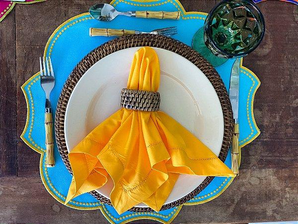 Guardanapo Ajour Colors Amarelo