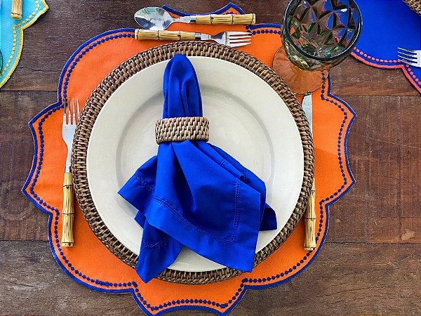 Guardanapo Ajour Colors Azul Escuro