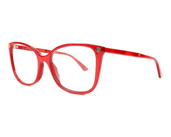 Óculos de Grau Gucci GG0026O 004 53