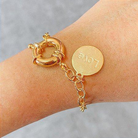 Pulseira Love Ouro