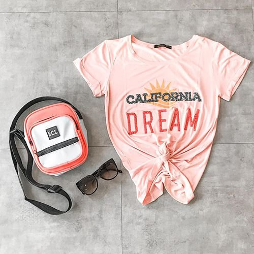 T Shirt California Dream Bordada