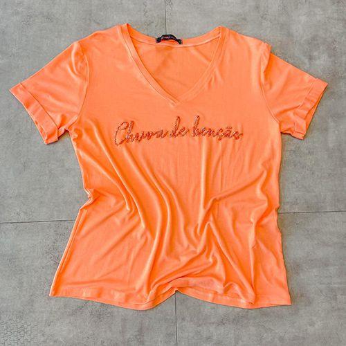 T Shirt Chuva de Benção Bordada