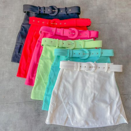 Shorts Saia Fenda