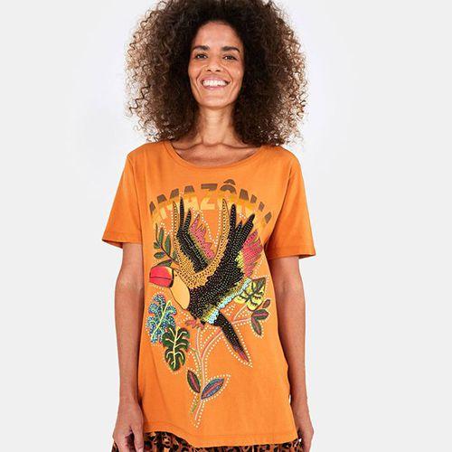 T Shirt Media Amazônia FARM