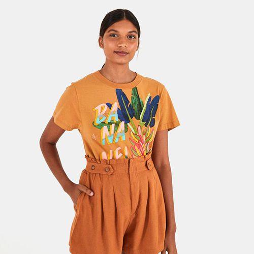 T Shirt Fit Bananeira FARM