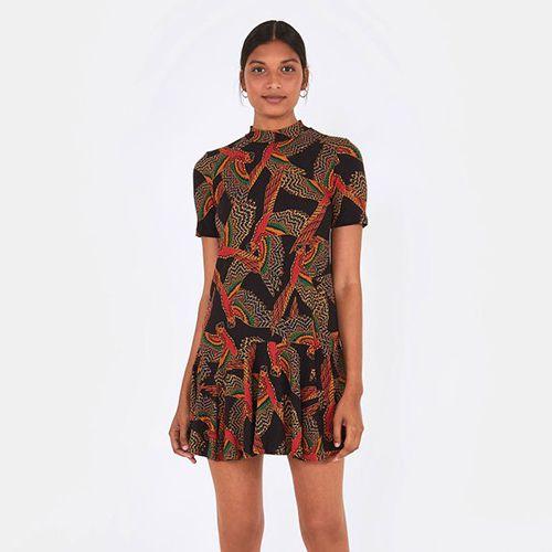 Vestido Rib Araras Ancestrais FARM