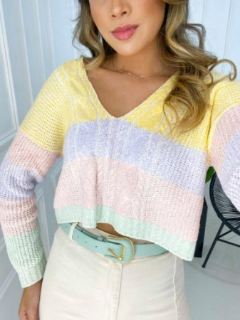 Cropped Hello Tricot